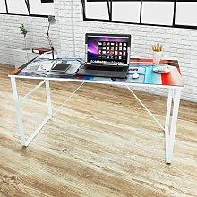 vidaXL Unique Rectangular Desk