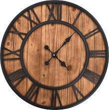 vidaXL Vintage Wall Clock with Quartz Movement