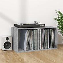 vidaXL Vinyl Storage Box Concrete Grey 71x34x36 cm