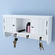 vidaXL Wall Cabinet for Keys and Jewelery with
