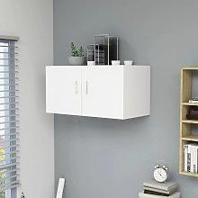 vidaXL Wall Mounted Cabinet White 80x39x40 cm