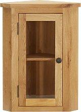 vidaXL Wall-mounted Corner Cabinet 45x28x60 cm