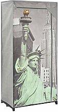 vidaXL Wardrobe New York 75x45x160 cm Fabric