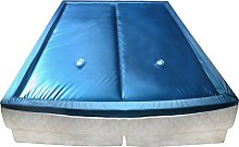 vidaXL Waterbed Mattress Set with Liner and Divider F5 6FT Super King