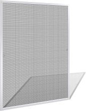 vidaXL White Insect Screen for Windows 100 x 120 cm