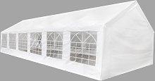vidaXL White Party Tent 12 x 6 m