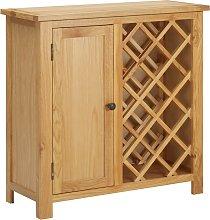 vidaXL Wine Cabinet for 11 Bottles 80x32x80 cm