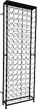 vidaXL Wine Rack for 108 Bottles Metal