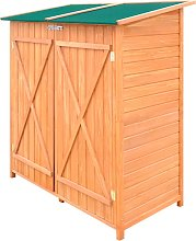 vidaXL Wooden Shed Garden Tool Shed Storage Room