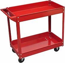 Vidaxl - Workshop Tool Trolley 100 kg Red