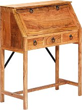 vidaXL Writing Desk 90x40x107cm Solid Acacia Wood