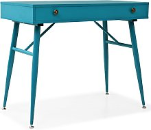 vidaXL Writing Desk with Drawer 90x50x76.5 cm