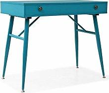 vidaXL Writing Desk with Drawer 90x50x76.5cm