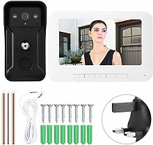 Video Doorbell Kit, Rain Cover Wired Video
