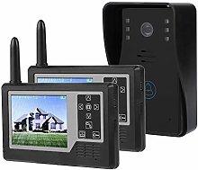 Video Doorbell, TFT 3.5in Wireless Doorbell