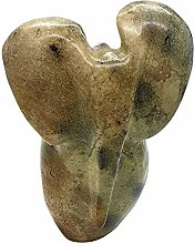 VIE Naturals Hand Carved Serpentine, Abstract