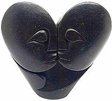 VIE Naturals Hand Carved Serpentine, Lovers, 10cm,