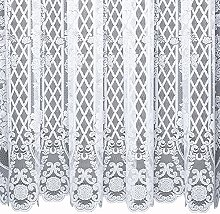 VIENNESE – A Floral Panel Net Curtain with