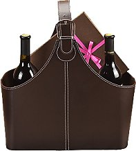 Viewlite Fancy Gift Storage Basket Leather Cover