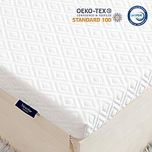 viewstar King Memory Foam Mattress Topper