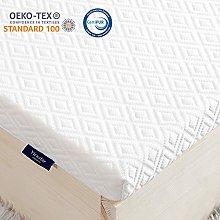 viewstar Mattress Topper Memory Foam Double Bed
