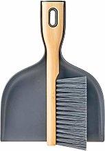 VIGAR 8859 Dustpan and Brush, White, Single
