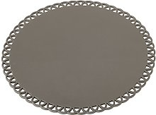 VIGAR Maid Trivet Round, Steel and Silicone, Grey,