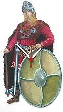 Viking Chief Viking Warrior Clock - H1
