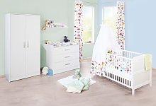 Viktoria 3 Piece Nursery Furniture Set Pinolino
