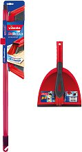 Vileda DuActiva Broom and Dustpan & Brush Set