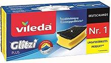 Vileda Glitzi Plus Washing Up Sponge with