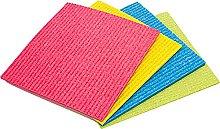 Vileda Sponge Cloth - Green - Pack Size: 1 x 5