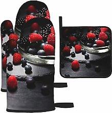 Vilico Dark Mood Food Lichtspiel Berries Oven