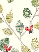 Villa Nova Lady Bugs Wallpaper, W586/01