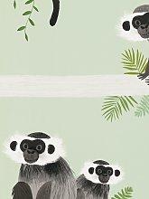 Villa Nova Monkey Bars Wallpaper, W567/01