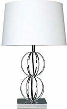 Village At Home Dexter Table Lamp, Metal, E27, 60