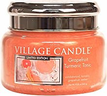 Village Candle Small Glass Jar With Metal Lid 11