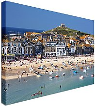 Village of St. Ives Cornwall England 20x30 inches
