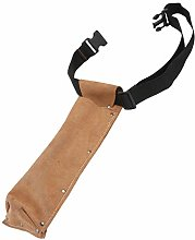 VILLCASE Welding Rod Bag Holder Leather Cowhide