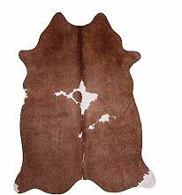 VIMODA Cowhide Rug Made of Faux Fur Robust Easy