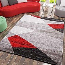 VIMODA Modern Living room Rug, Geometrical