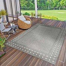 VIMODA Robust flat weave rug, suitable for indoor