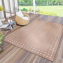 VIMODA Robust flat-weave rug, suitable for indoor