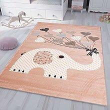 VIMODA Rug Elephant King Room for Children Fluffy