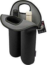 Vin Bouquet FIE 022-Cooler Bag, Black, 2 Bottles