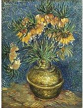 Vincent Van Gogh Imperial Fritillaries In A Copper