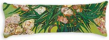 Vincent Van Gogh Oleanders Body Pillow Cover