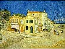 Vincent Van Gogh The Yellow House Art Print Canvas