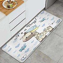 VINISATH Kitchen Mats Rug Washable,Baby Shower