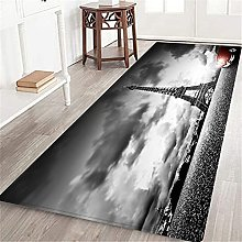 VINISATH Long Floor Mat Artistic image of Effel